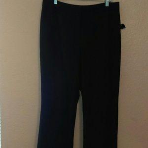 Kasper black lined trousers
